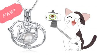 Cat Nap Pearl Cage Pendant Giveaway