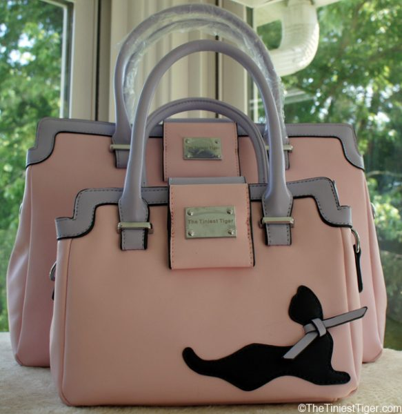 Pretty in Pink Cat Handbags
