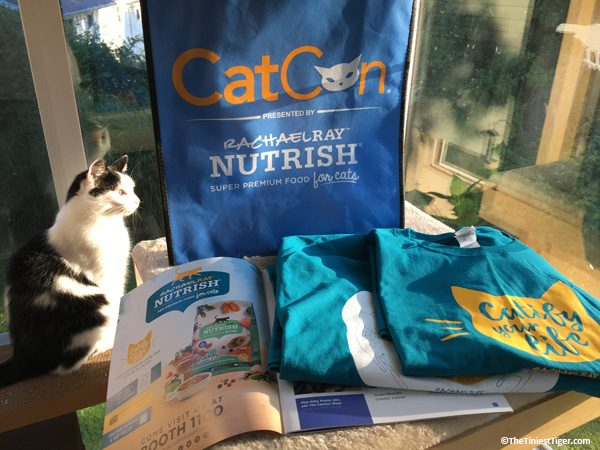 Eddie with CatCon Nutrish Giveaway