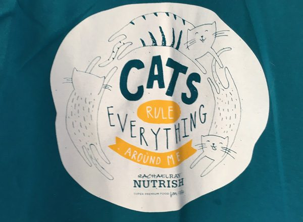 Nutrish CatCon 2017 t shirt cats are everything