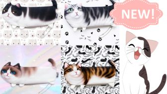 Cute Cat Zipper Pouch Giveaway