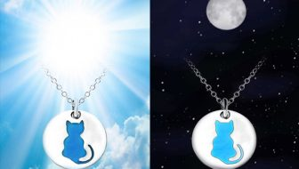 Glow In The Dark Cat Necklace Giveaway