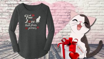 True Love Has Four Paws T Shirt Giveaway
