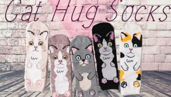 Cat Hug Socks Giveaway