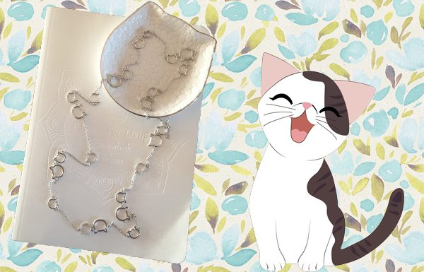 Cat Station Necklace