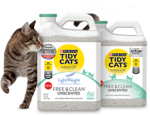 Tidy Cats Free and Clean