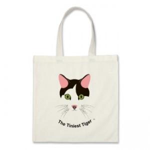 The Tiniest Tiger Logo Bag