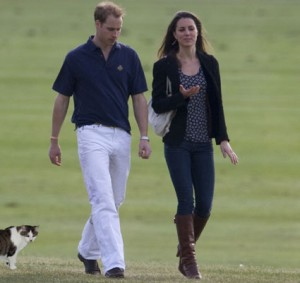 Gracey with William and Kate