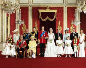 Gracey in the Royal Wedding Photo