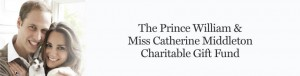 The Prince William & Miss Catherine Middleton Charitable Gift Fund
