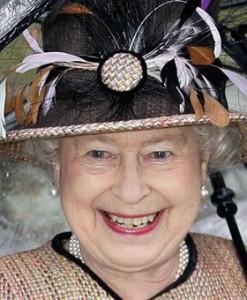 Happy Queen Elizabeth