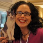 Angie Bailey of Catladyland and Gracey