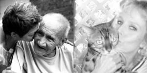 Senior citizen collage