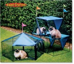 Kittywalk Carnival Outdoor Cat Enclosure