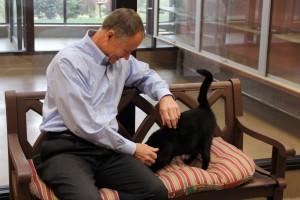 Dr. Carter at Hill's Pet Nutrition Center