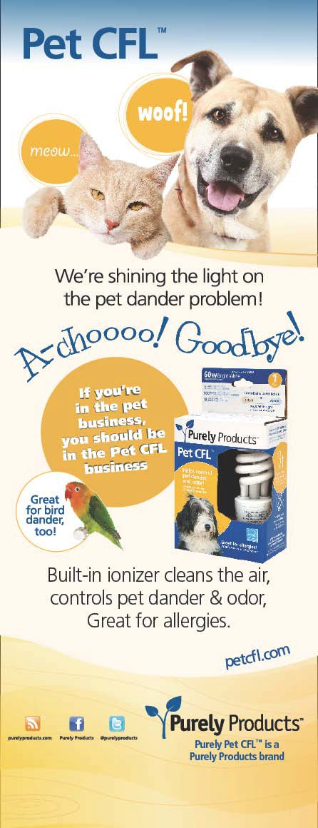 Allergic to your Cat? Pet CFL to the Rescue!