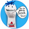 The Bissell White Sock Test