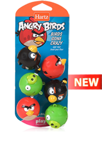 Hartz Angry Birds Cat Toy Review and Giveaway