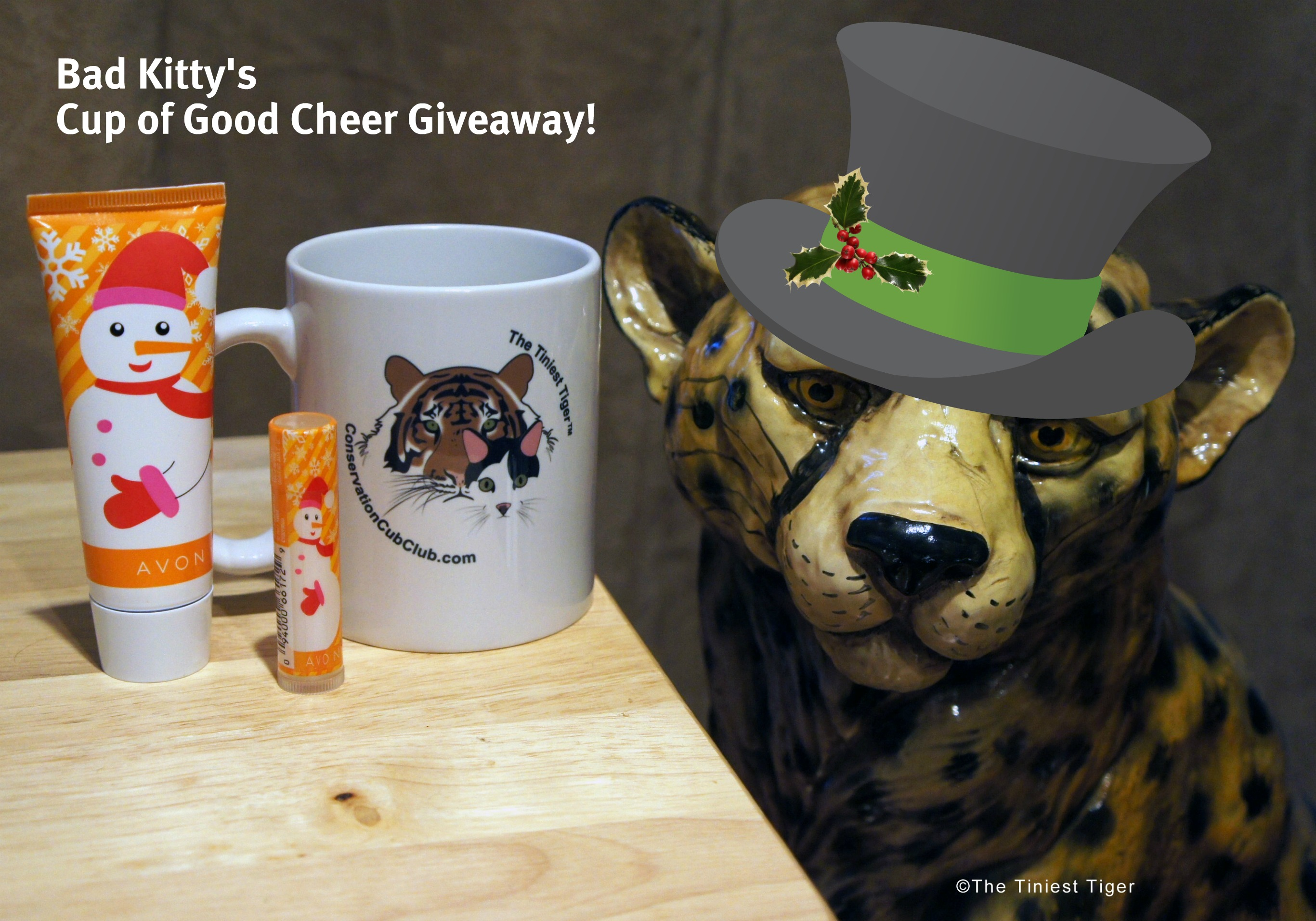 Bring in The New Year with Bad Kitty's Cup of Good Cheer Giveaway!