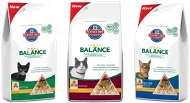 Hill's Ideal Balance Grain Free & Natural Cat Food Giveaway