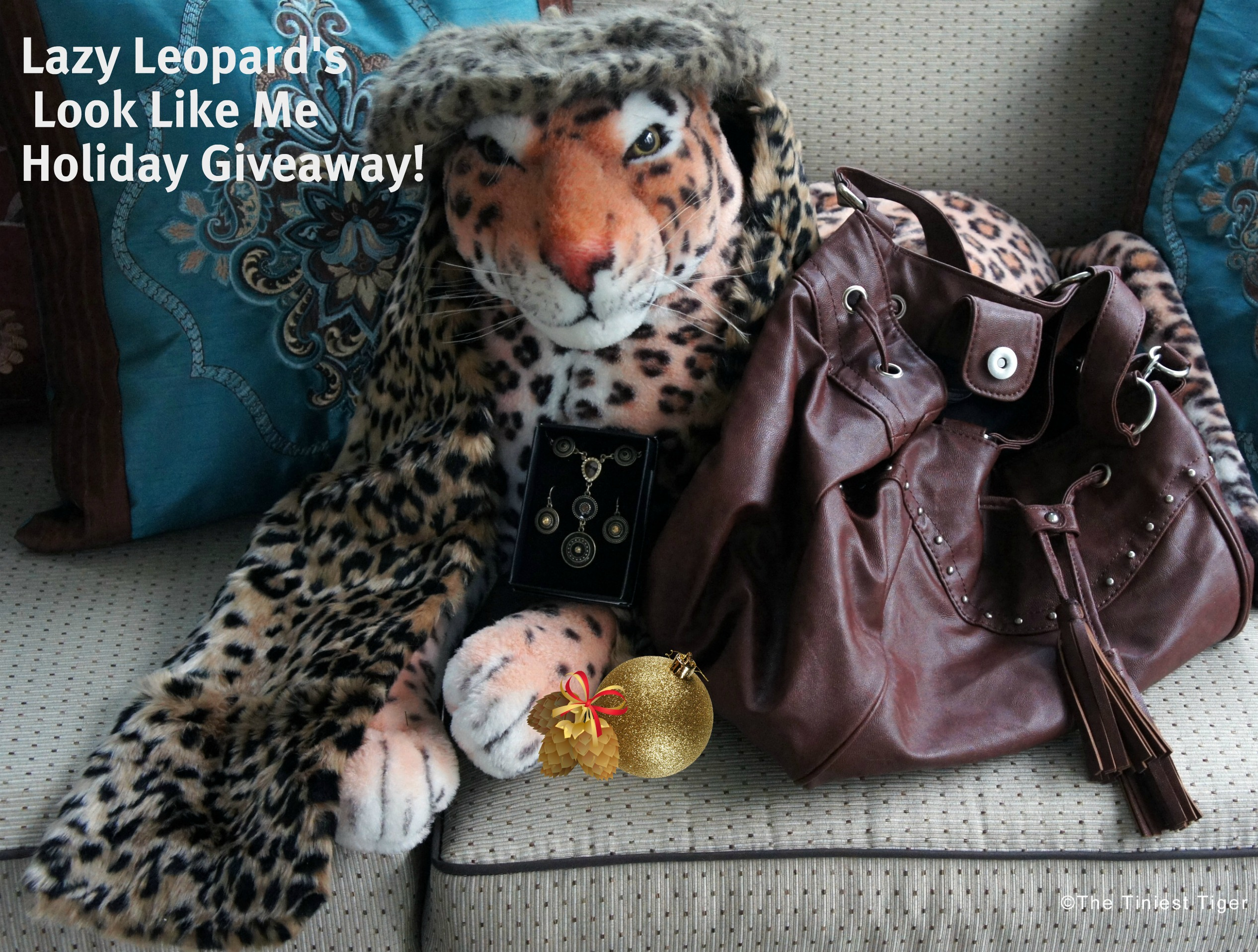 Lazy Leopard's Look Like Me Holiday Giveaway!