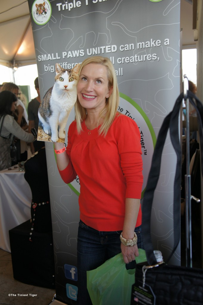 Angela Kinsey with Flat Gracey