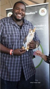 Quinton Aaron and Flat Gracey