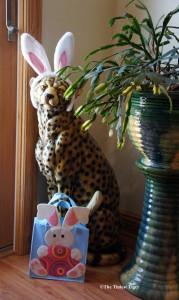 Bad Kitty with Rabbit Ears