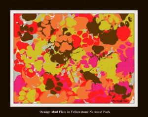 Gracey Art, Orange Mud Flats
