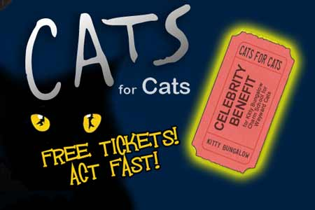 Free Tickets to Cats for Cats in LA