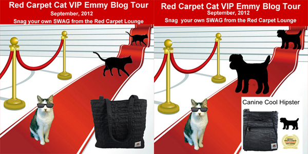 Red Carpet Cat VIP Cat and Dog Badges