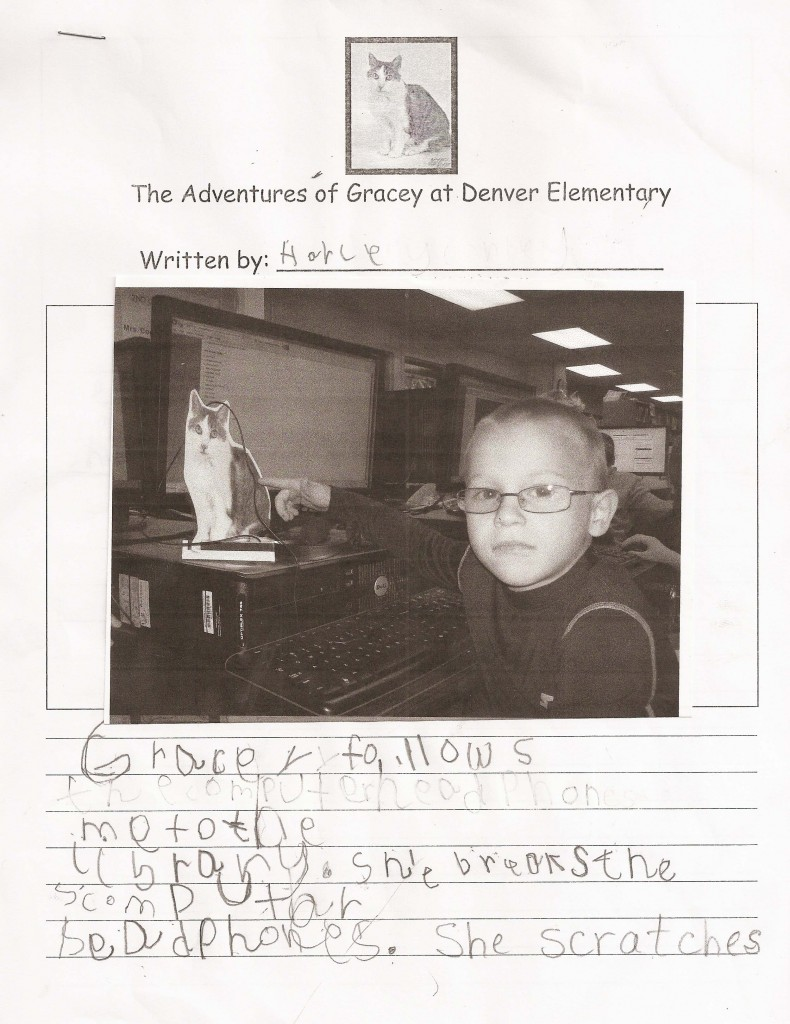 Advenutres of Gracey at Denver Elementary by Harley