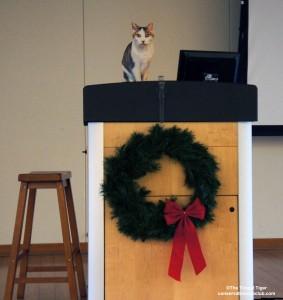 Gracey at the podium Cinti Zoo