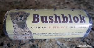 Bushblok log