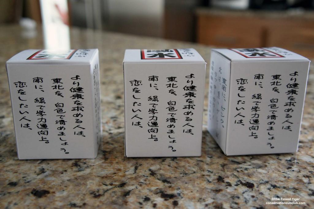 Maneki-neko boxes