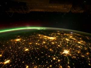 midwester cities from space