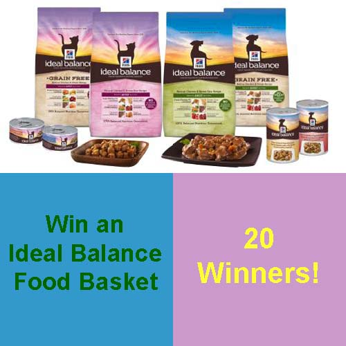 Win a Hill's Ideal Balance Gift Basket!  20 Winners!