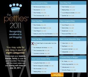 Petties Best Cat Blog