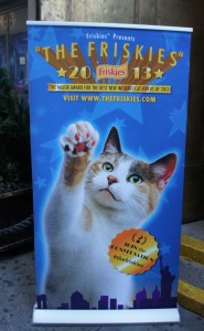 The Friskies Banner