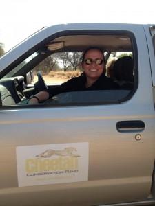 Joanne in CCF Truck