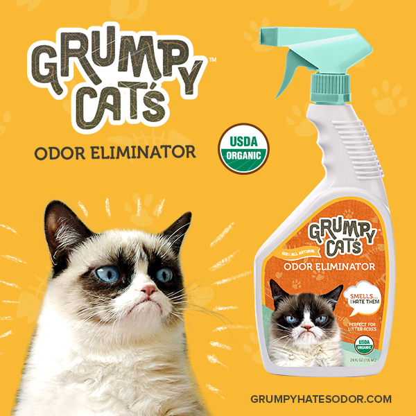 Grumpy Cat's Odor Eliminator Giveaway