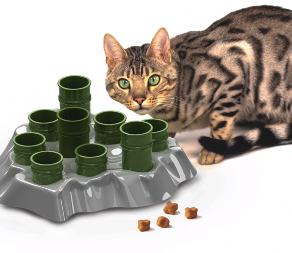Satisfy Your Cat's Hunting Instinct.   AiKiou Stimulo Giveaway