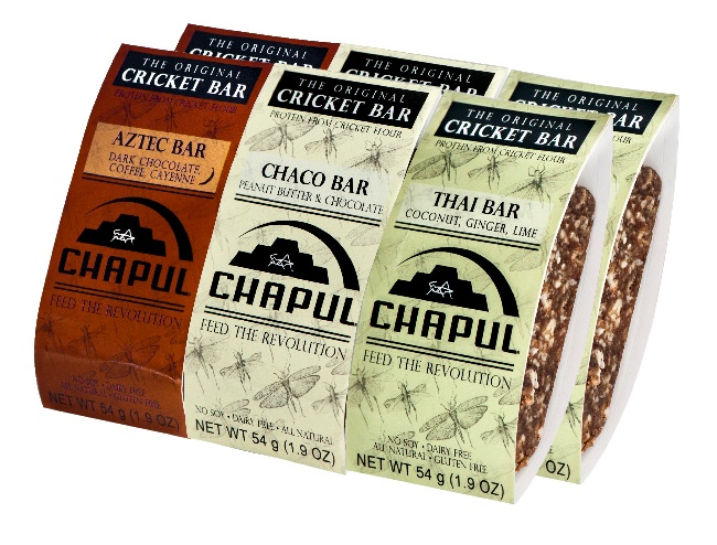 Food For Thought. Chapul, The Original Cricket Bar Giveaway