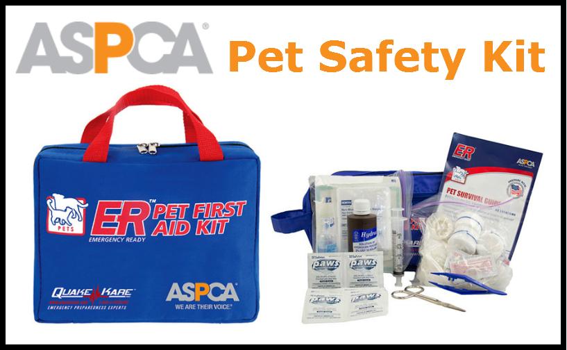 Win an ASPCA Pet First Aid Kit!