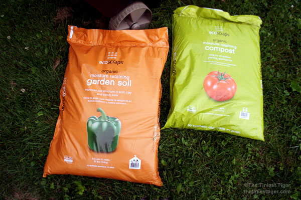 organic soil and compost