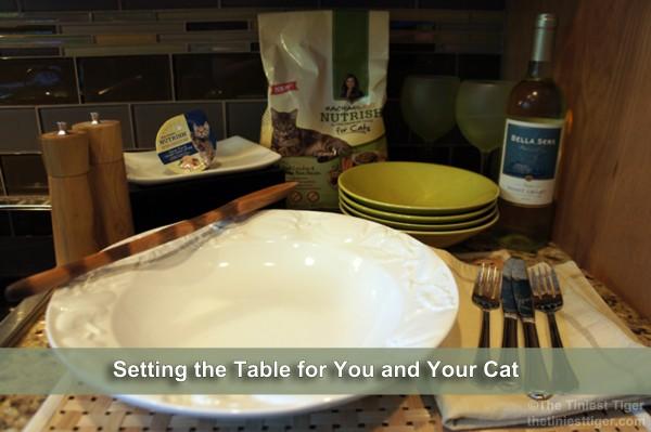 Nutrish Dinner Table Setting