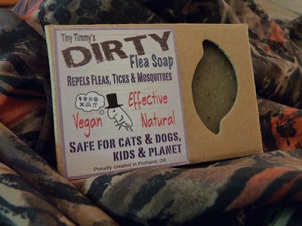 Dirty Flea soap