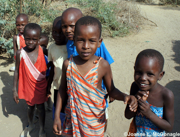 maasai children in kenya