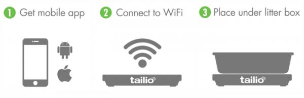 Tailio easy setup