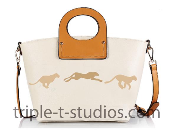 Triple T Studios Cheetah Handbag